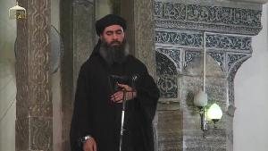 Evil ISIL leader Abu Bakr al-Baghdadi calling on all Muslims...
