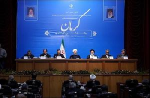 Iran President: All three branches follow country's develo...