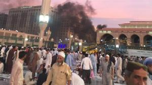 Three bomb attacks hit near mosque in Qatif, security hq. in...