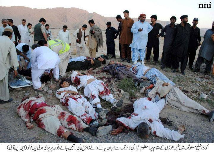 Balochistan: Shia Pilgrims bus attacked in Mastung, 26 martyred