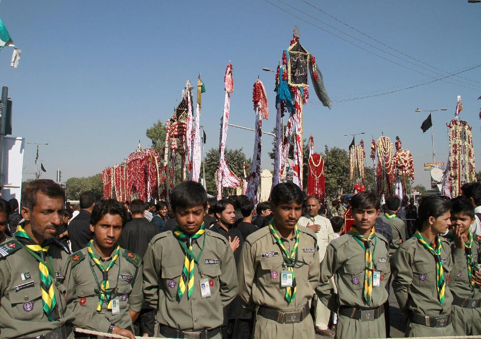 Pakistan: 8th Muharram processions culminates amid stern security