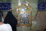 mehrab where Imam Ali(a.s.) was stuck